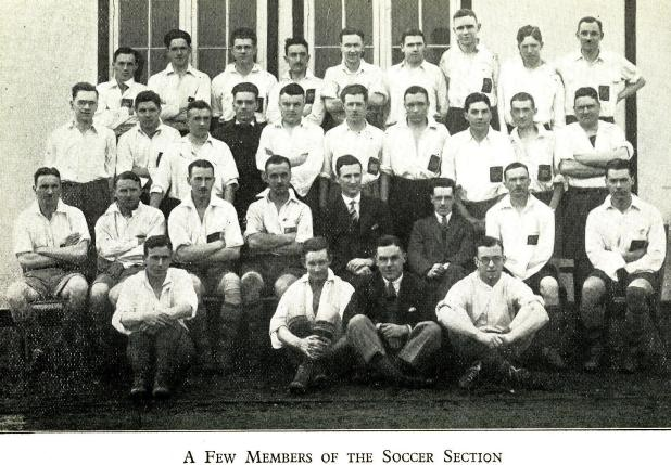 1932 Soccer Section
