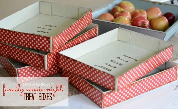 treat boxes | family movie night | oldsaltfarm.com