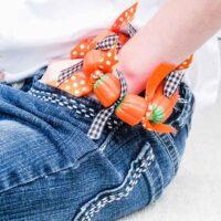 Candy Pumpkin Bracelets