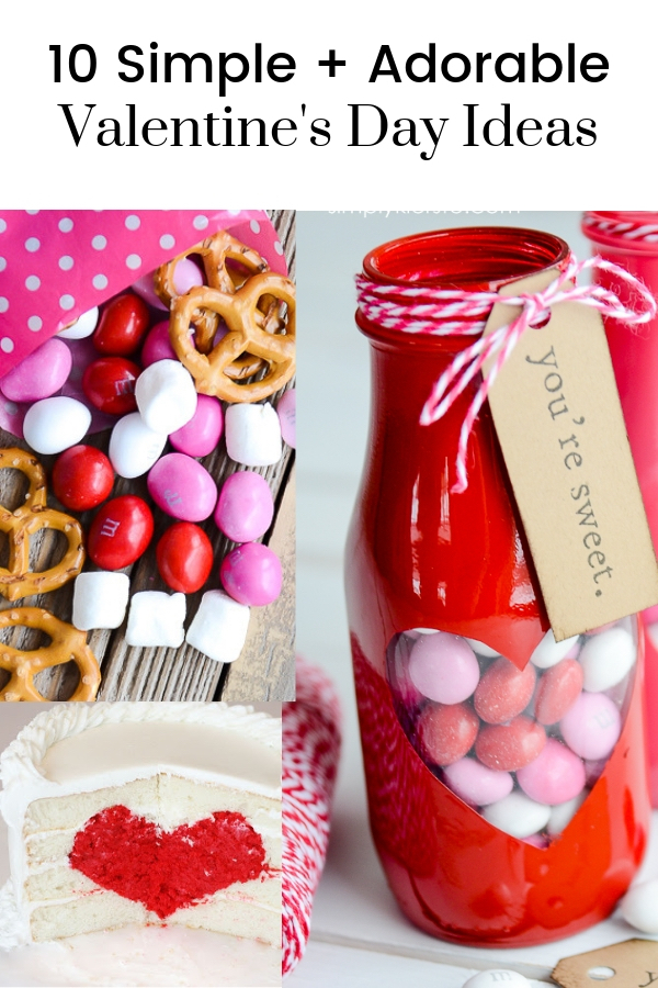 Simple + Adorable Valentine's Day Ideas