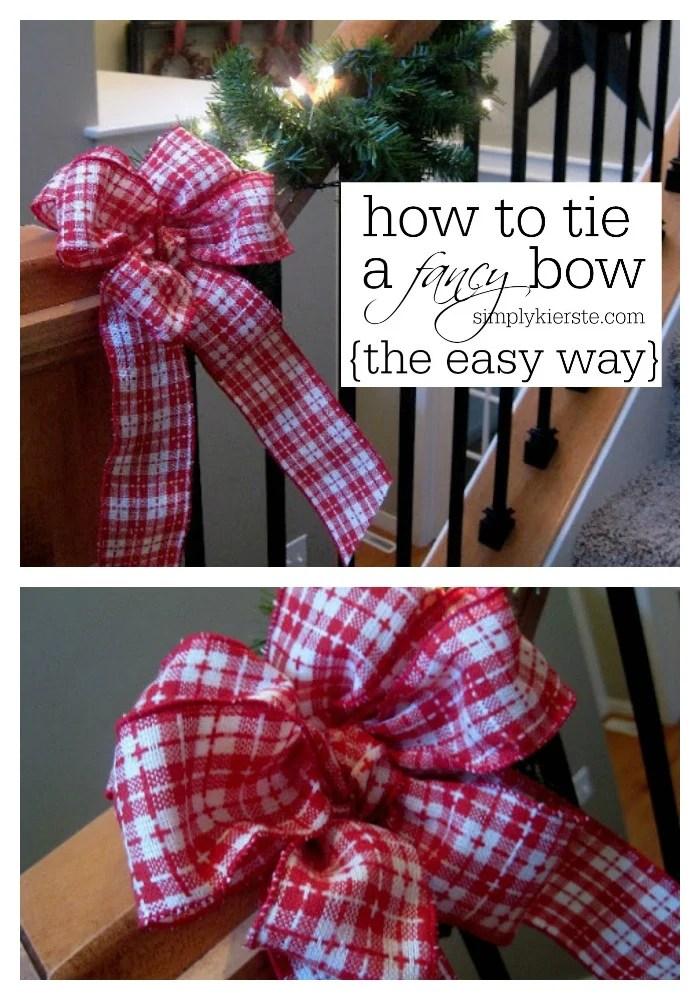 How to Tie a Fancy Bow   oldsaltfarm.com