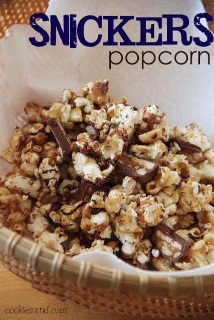 super bowl snickers popcorn | oldsaltfarm.com