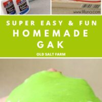 Homemade Gak Recipe (Slime)