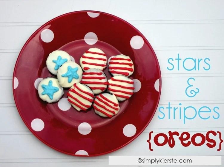 Stars & Stripes Oreos | oldsaltfarm.com