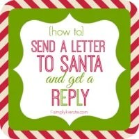 How to write letters to Santa and Get A Reply | oldsaltfarm.com