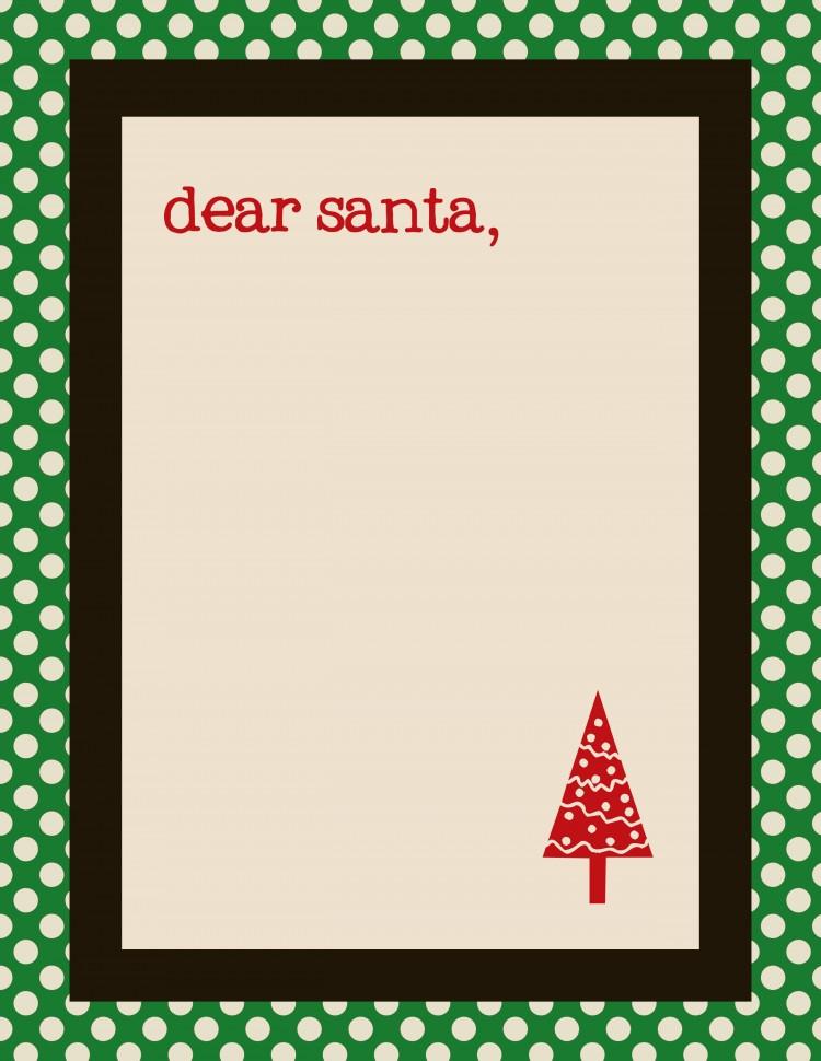 santa letter template | oldsaltfarm.com