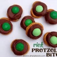 Mint Pretzel Bites | oldsaltfarm.com