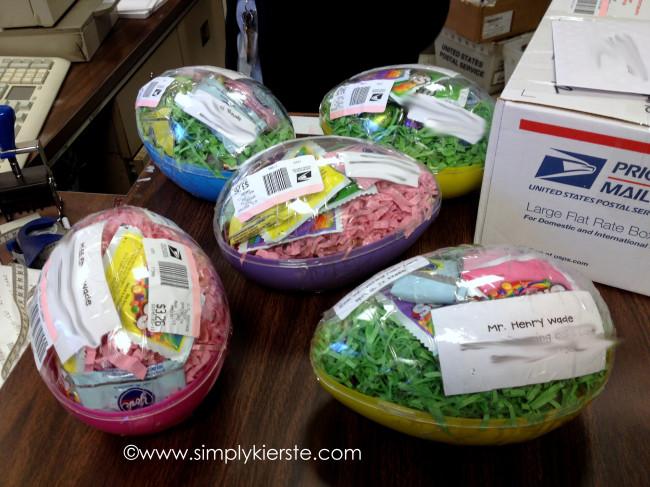 Mailing Easter Eggs | oldsaltfarm.com