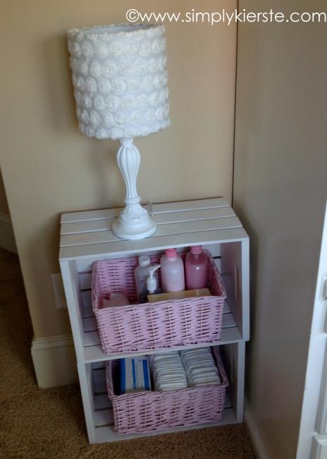 nursery nightstand | oldsaltfarm.com