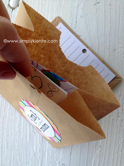 paper sack cards secret compartment copy