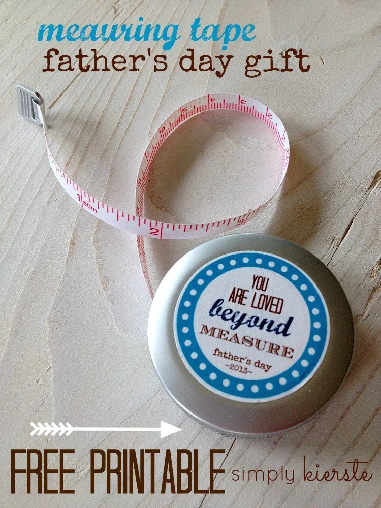 measuring tape gift | oldsaltfarm.com