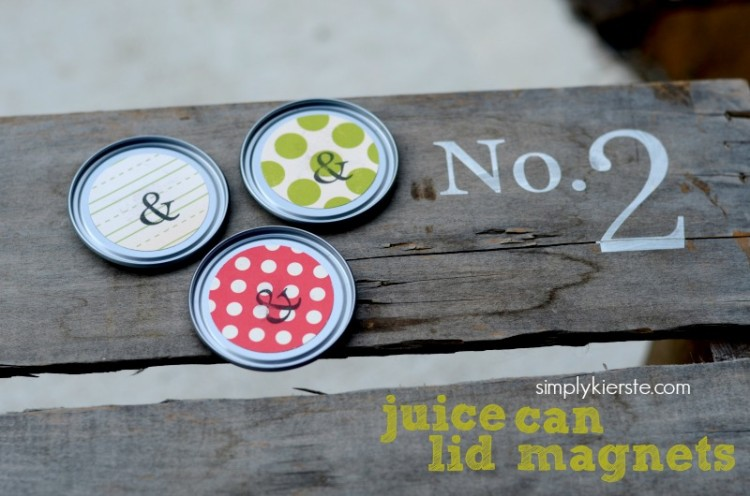 juice can lid magnets | oldsaltfarm.com