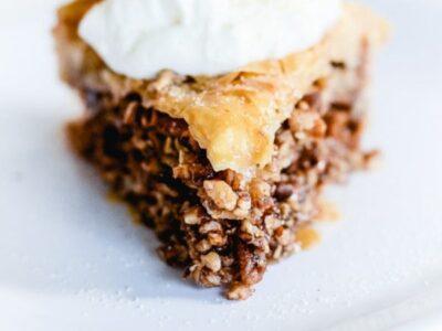 Easy Baklava Pie Recipe