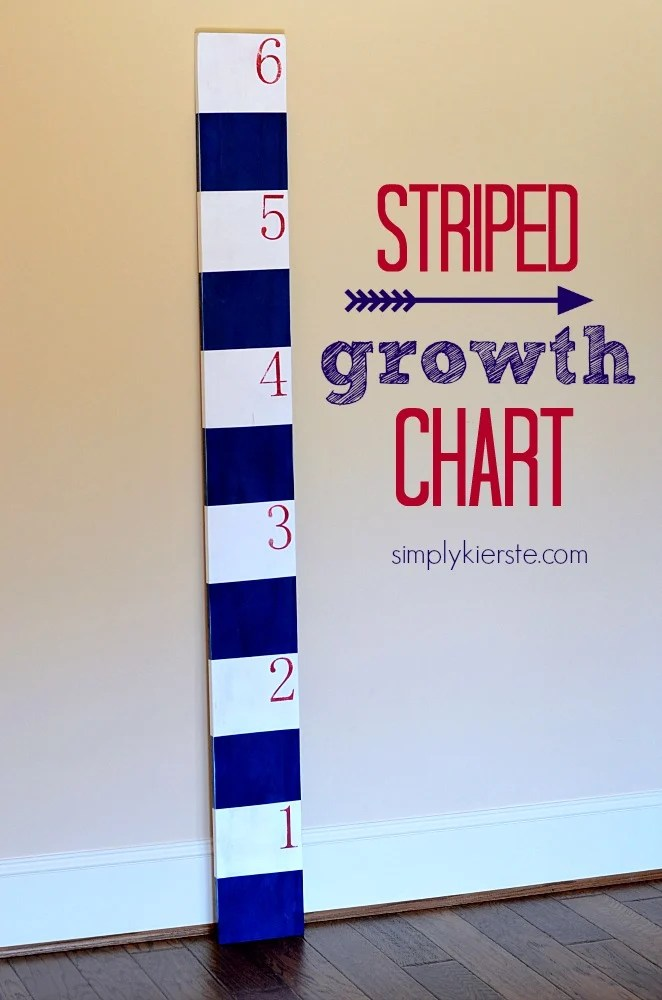 striped growth chart | oldsaltfarm.com