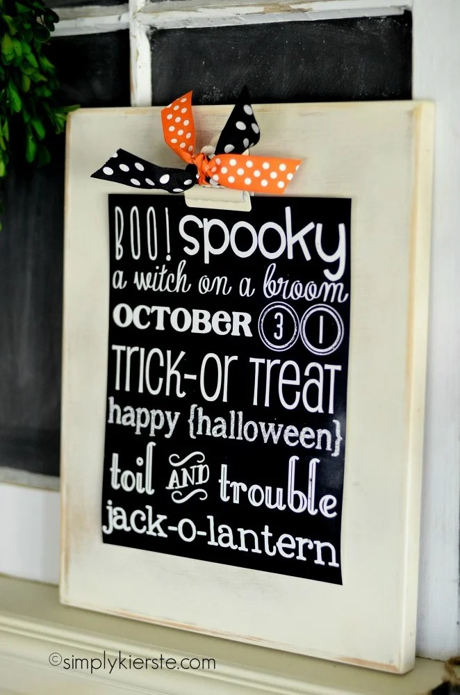 halloween chalkboard printable   oldsaltfarm.com