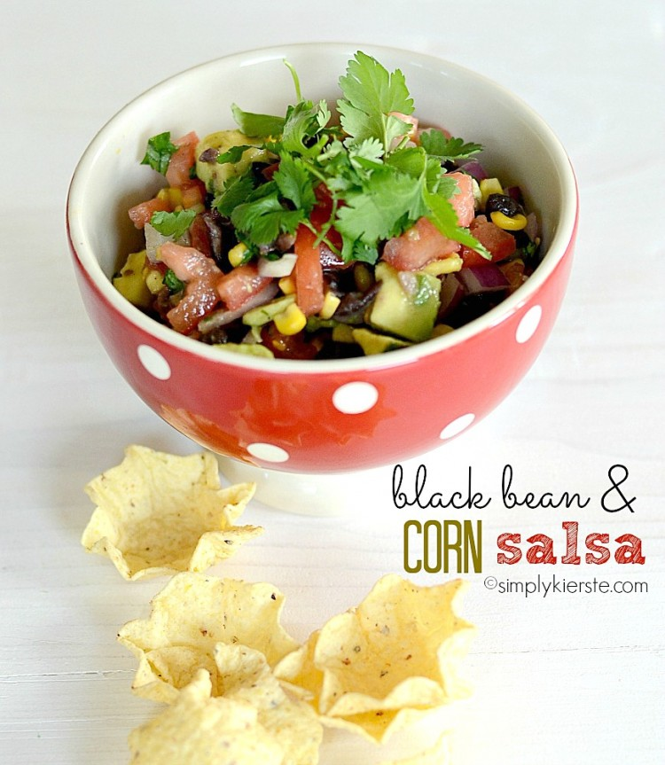 Black Bean & Corn Salsa   oldsaltfarm.com
