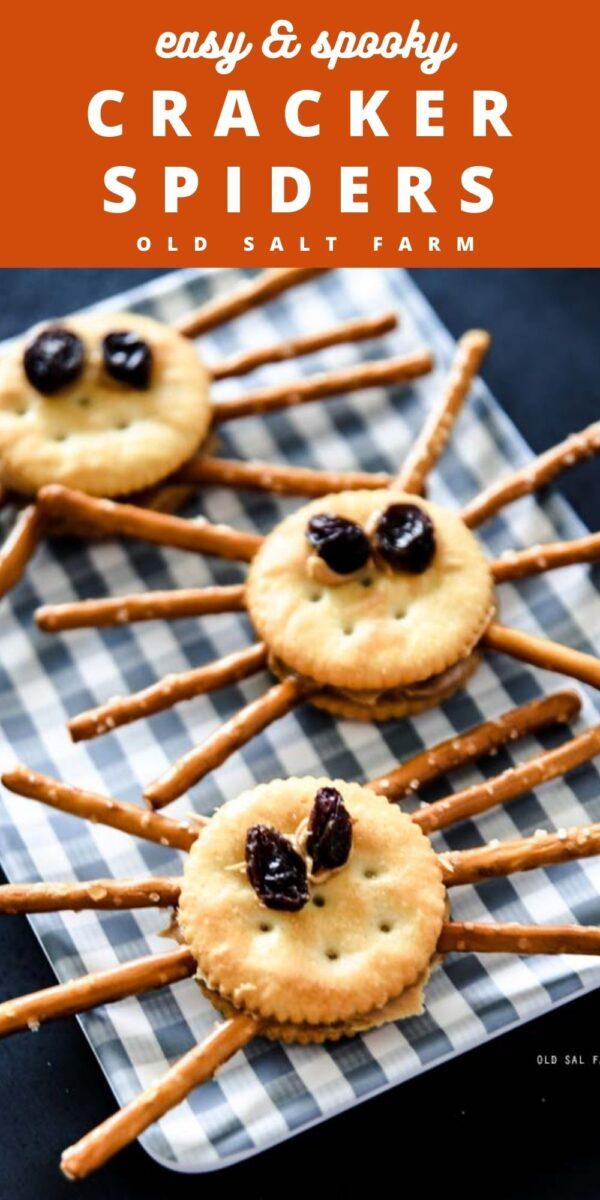 Spooky Cracker Spiders