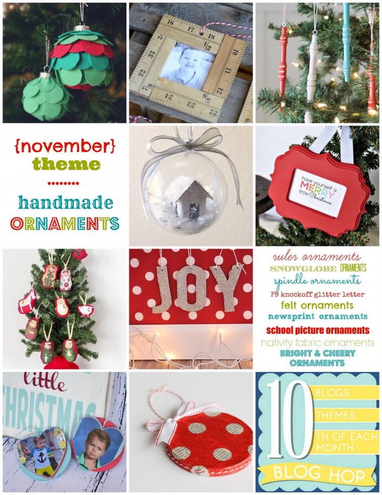 handmade ornaments | oldsaltfarm.com