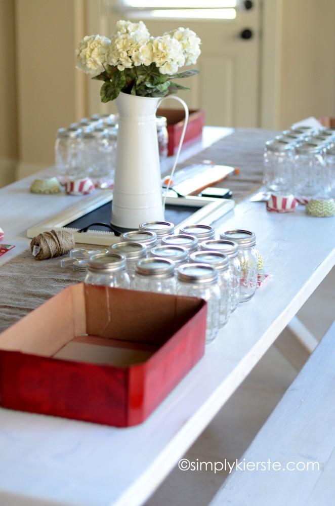 christmas mason jar dift set | oldsaltfarm.com