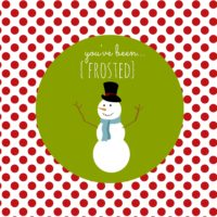 You've Been Frosted | oldsaltfarm.com