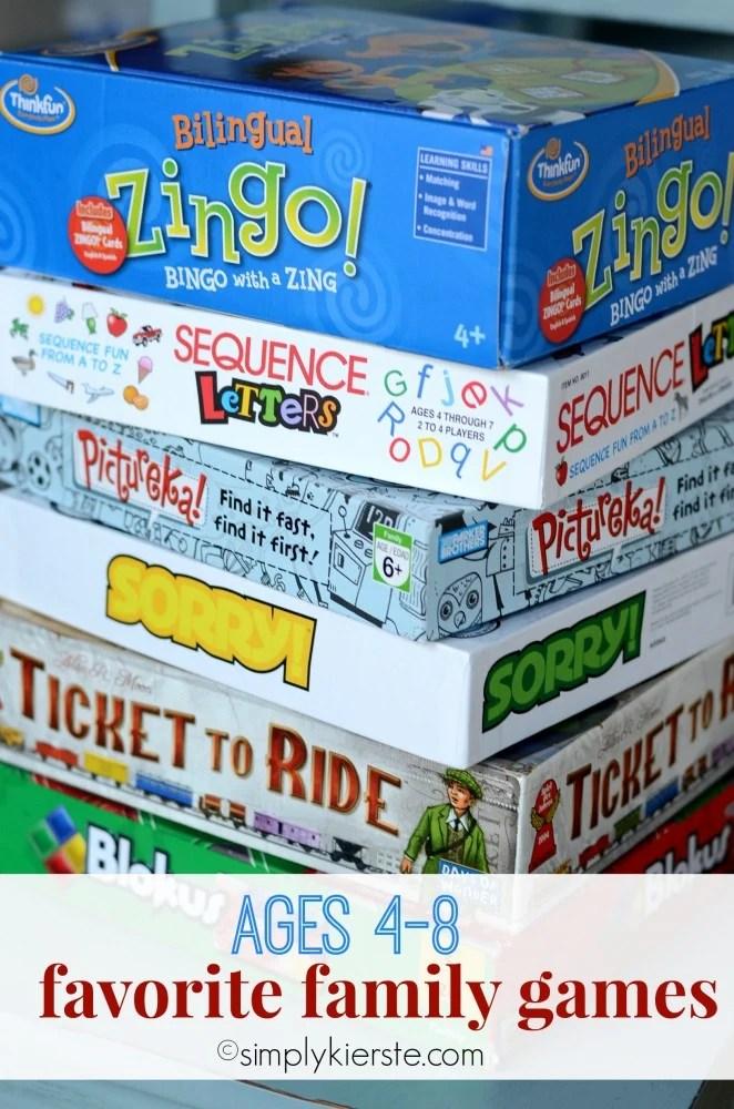favorite family games | oldsaltfarm.com
