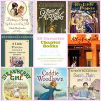 favorite chapter books for girls | oldsaltfarm.com