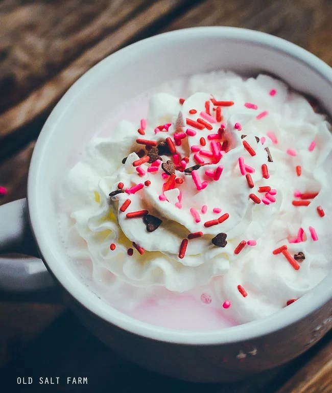 Pink Hot Chocolate