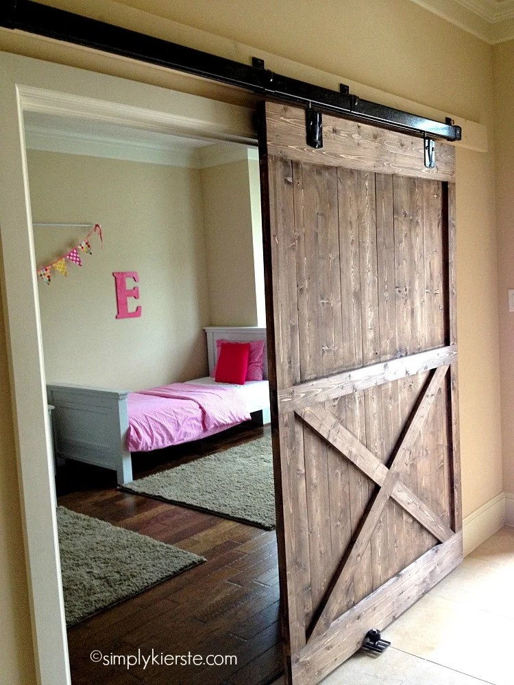 Installing A Sliding Barn Door How Easy Is It Oldsaltfarm Com