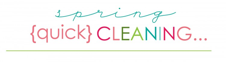 spring cleaning quick header