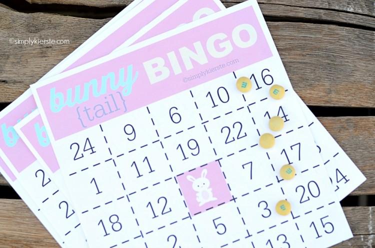 bunny tail bingo | oldsaltfarm.com