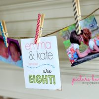 picture bunting | oldsaltfarm.com