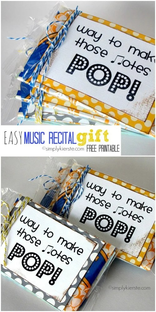 Pop! Music Recital Gift | oldsaltfarm.com
