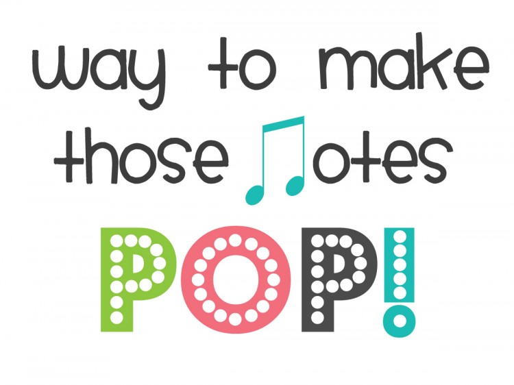 Pop! EASY Music Recital Gift | oldsaltfarm.com
