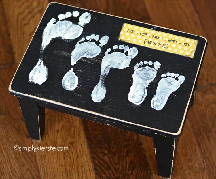 footprint stool   oldsaltfarm.com