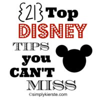 Top Disney Tips | oldsaltfarm.com