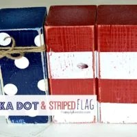 Polka Dot & Striped Flag | oldsaltfarm.com