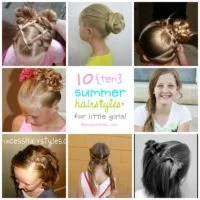 Summer Hairstyles for Little Girls | oldsaltfarm.com