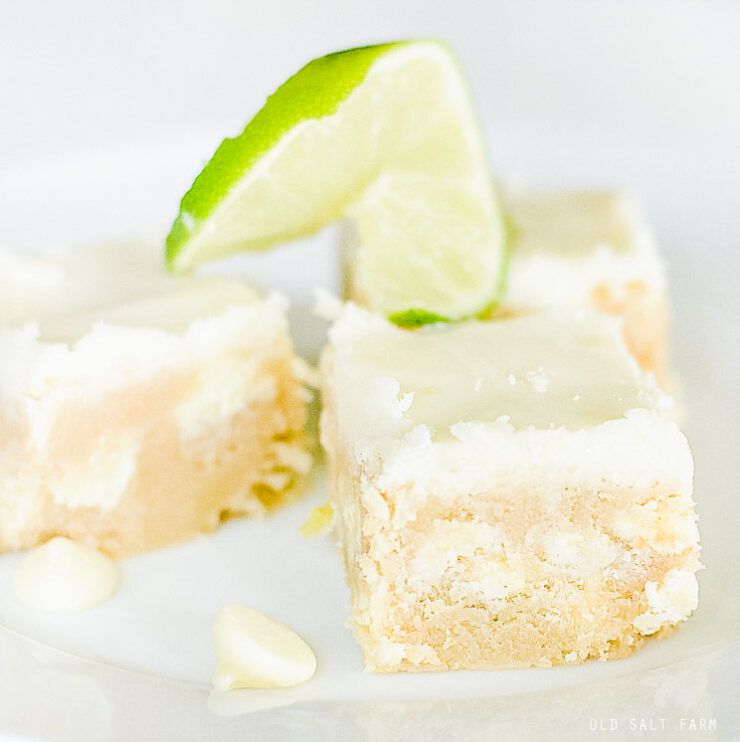 Glazed Lime Bars