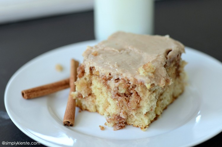 Cinnamon Swirl Cake | oldsaltfarm.com