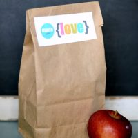 Lunchbox Love Notes | oldsaltfarm.com