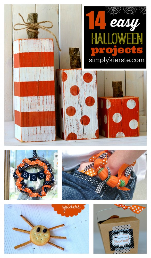 Easy Halloween Projects | oldsaltfarm.com