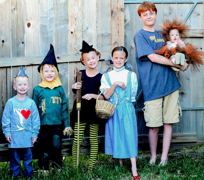 Wizard of Oz Family Costume Ideas