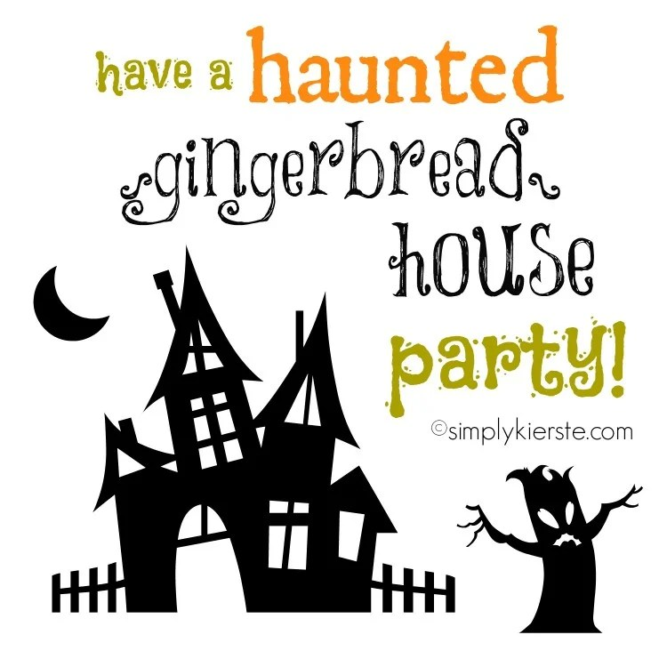 Haunted Gingerbread House Party | oldsaltfarm.com