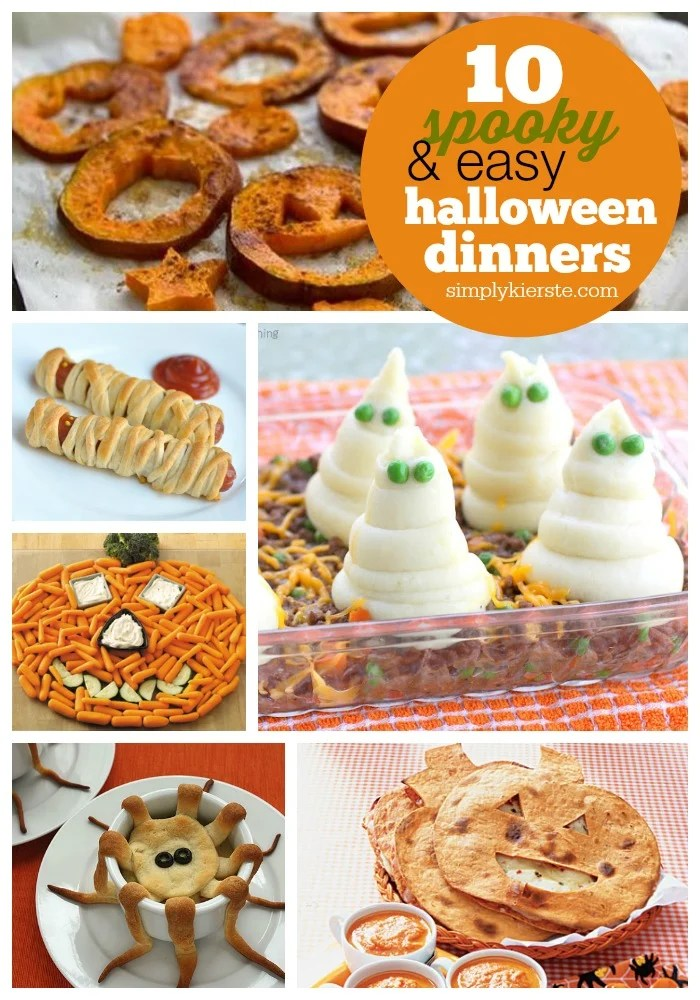 Easy & Spooky Halloween Dinner Ideas | oldsaltfarm.com