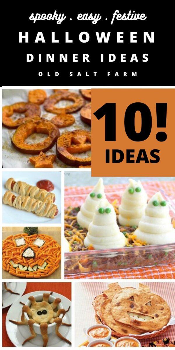 10 Spooky Easy Halloween Dinner Ideas
