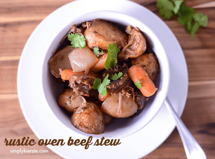 Hearty Oven Beef Stew | oldsaltfarm.com