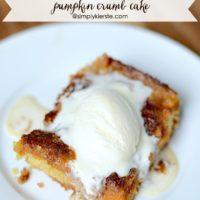Pumpkin Crumb Cake | oldsaltfarm.com