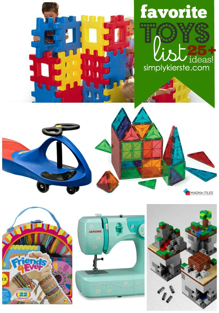 Favorite Toys List | 25+ Ideas | oldsaltfarm.com