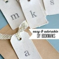Easy & Adorable DIY Bookmarks | oldsaltfarm.com