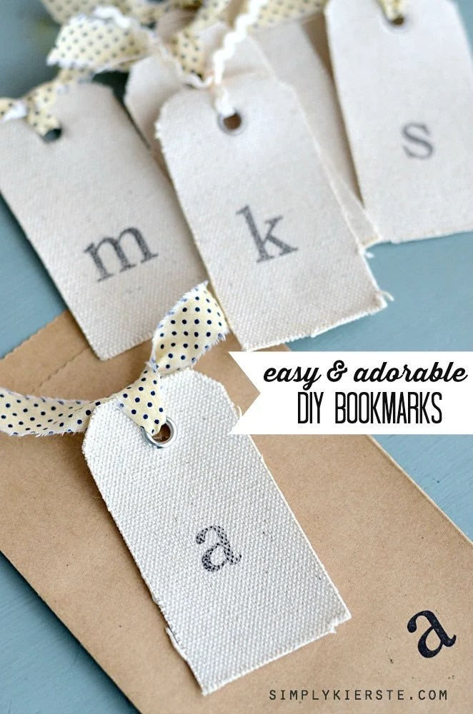 Easy & Adorable DIY Bookmarks | oldsaltfarm.com